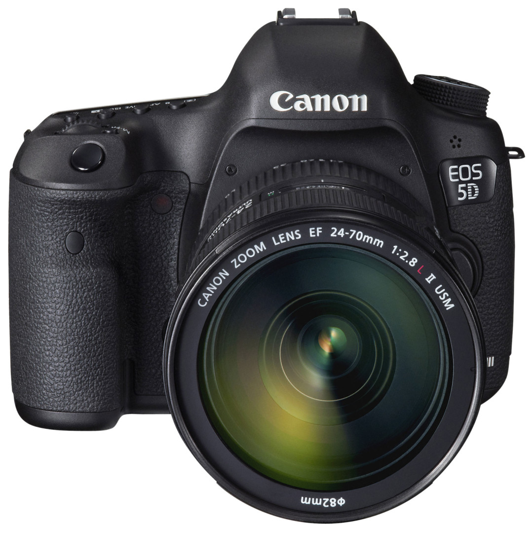 Canon EOS 5D Mark III front