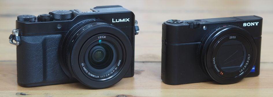 Lumix LX100 vs Sony RX100 III