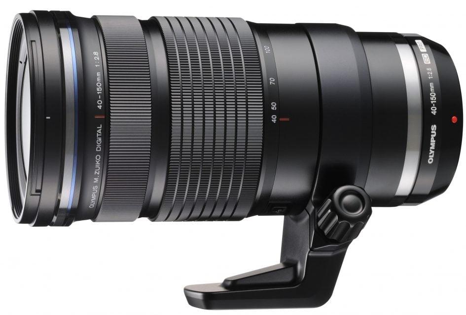 Olympus 40-150mm f1.8 side