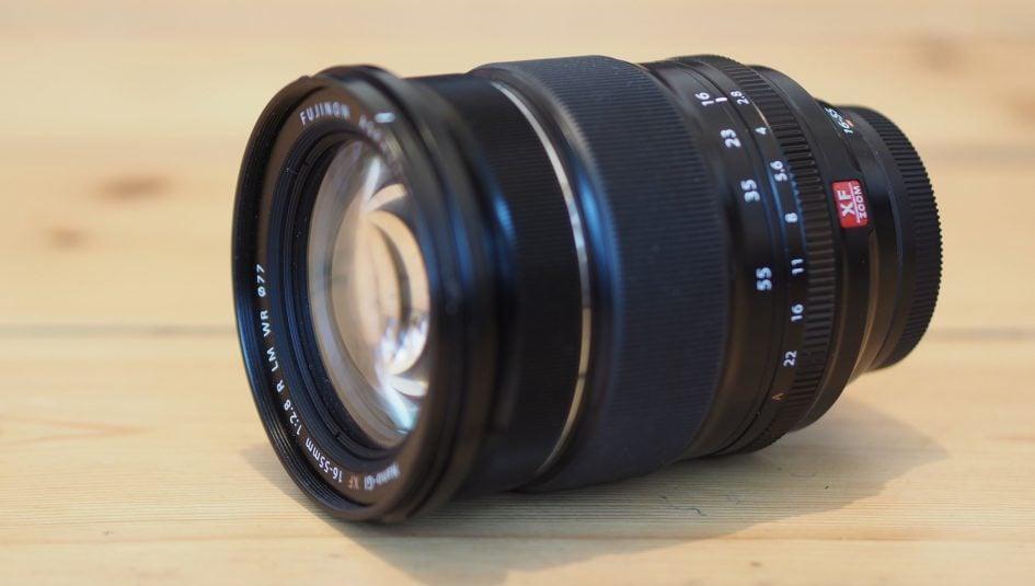 Fuji 16-55mm slant