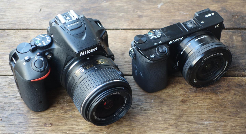 Nikon D5500 vs A6000