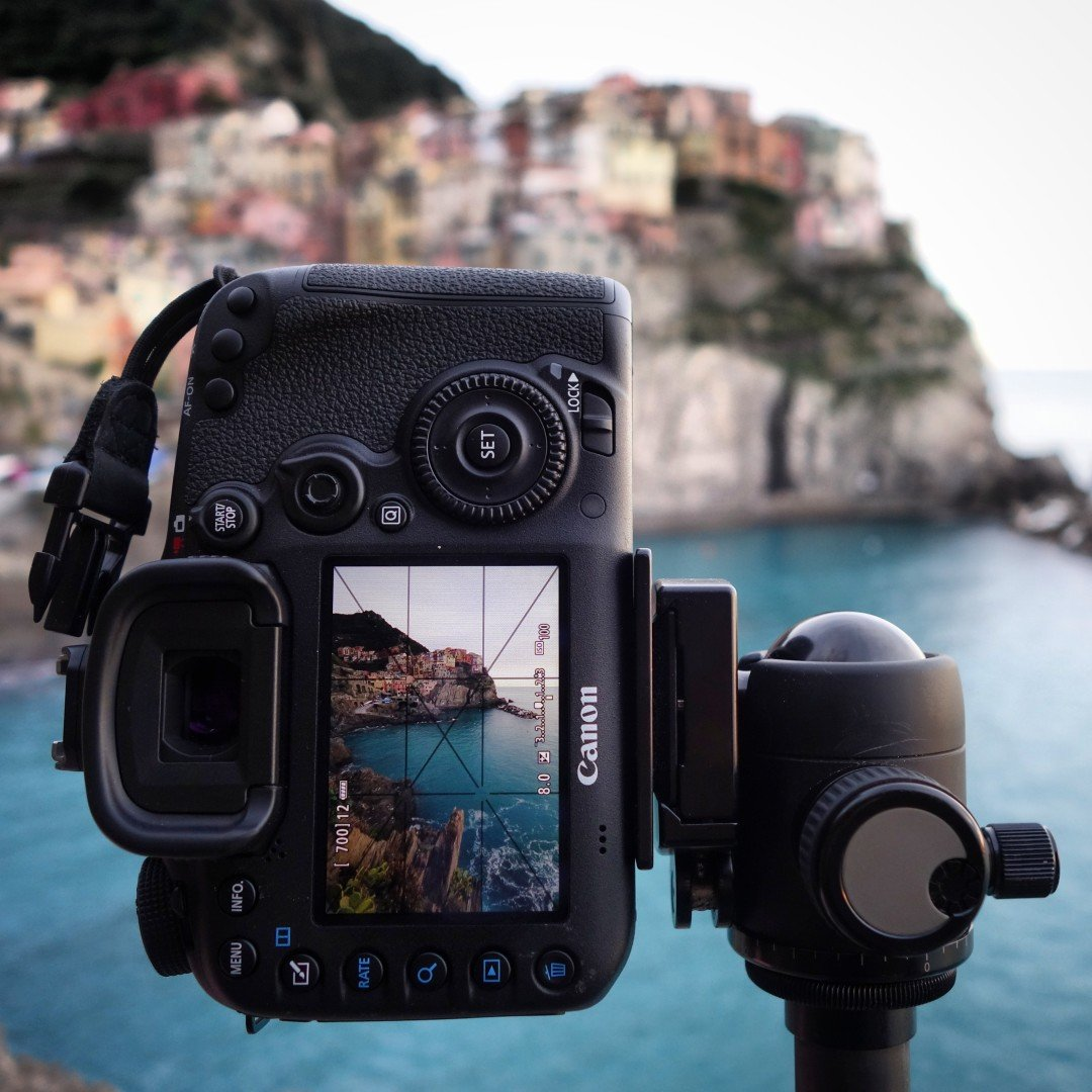 Canon 7D II at Manarola