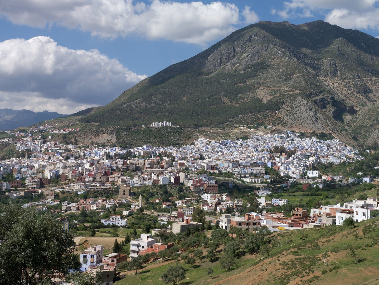 Chefchaouen overview, Morocco