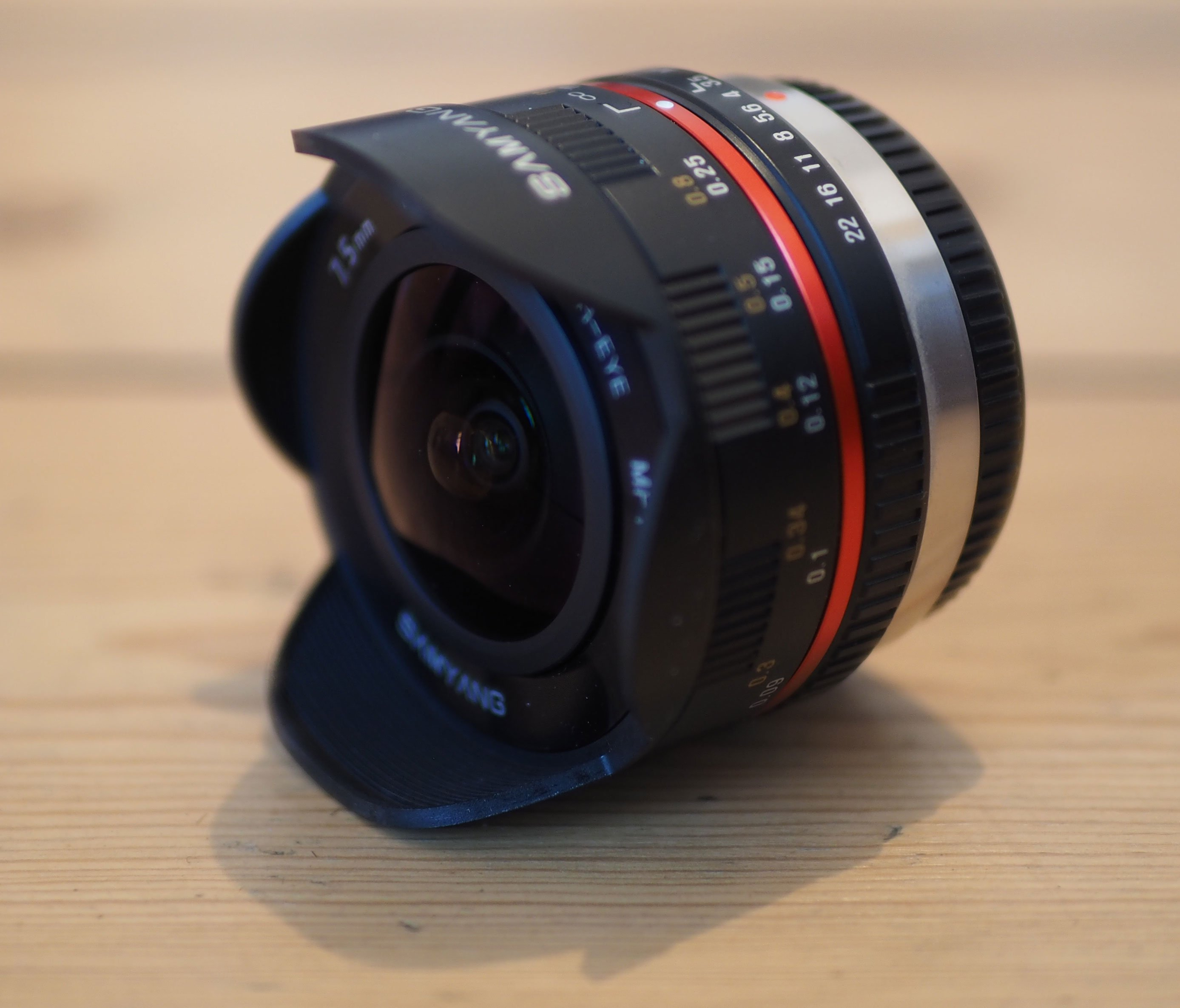 Samyang 7.5mm fisheye