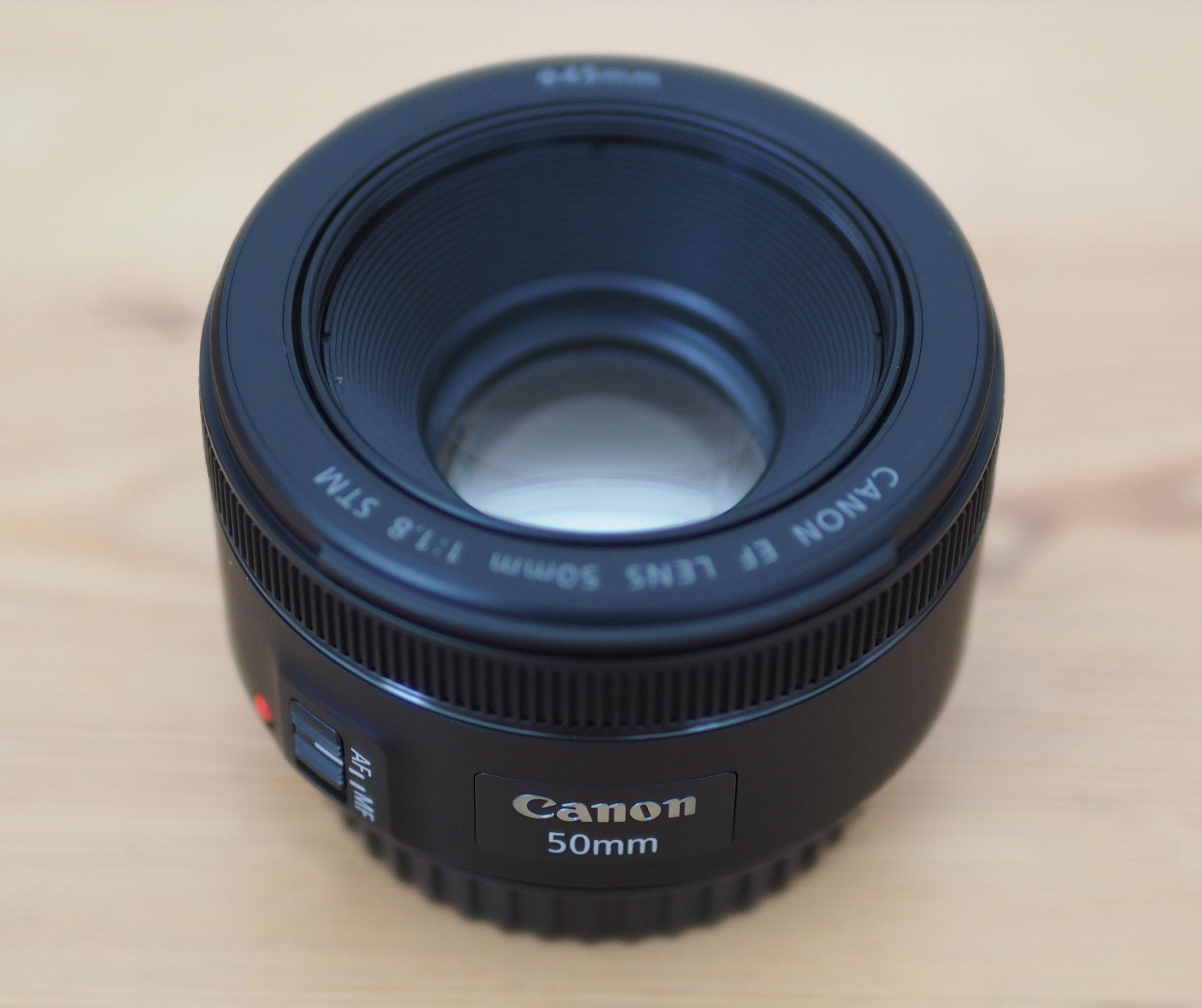 Canon EF 50mm f1.8 STM review - In depth of 5