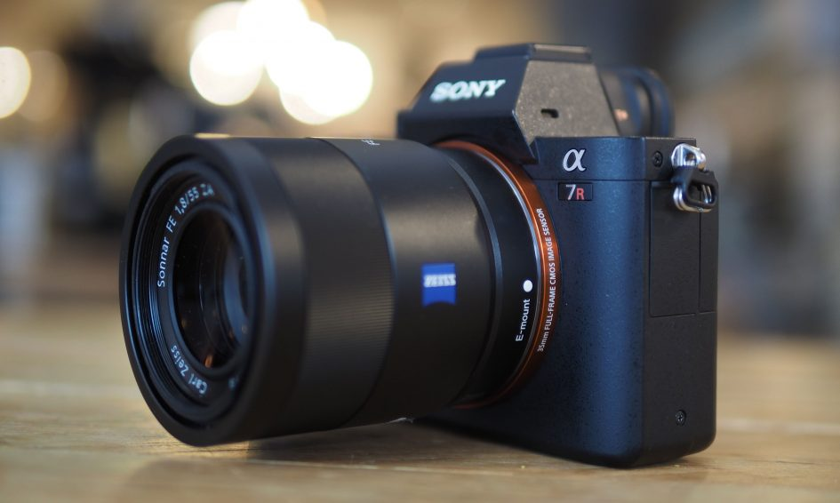 Image result for images of Sony Alpha A7R II