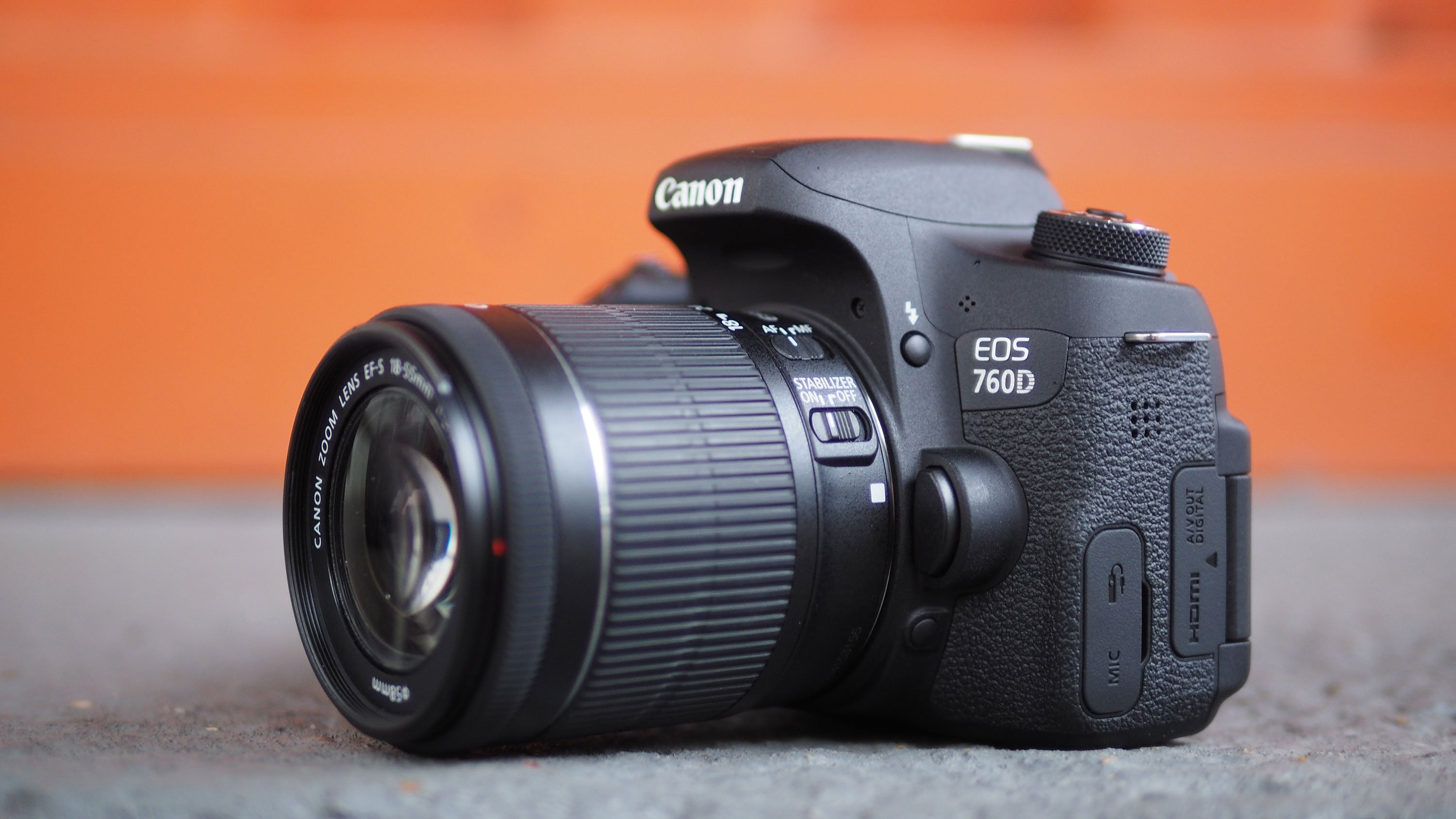 Canon Eos Rebel T6s 760d Review Cameralabs 1200d Kit 18 55mm Iii Non Is