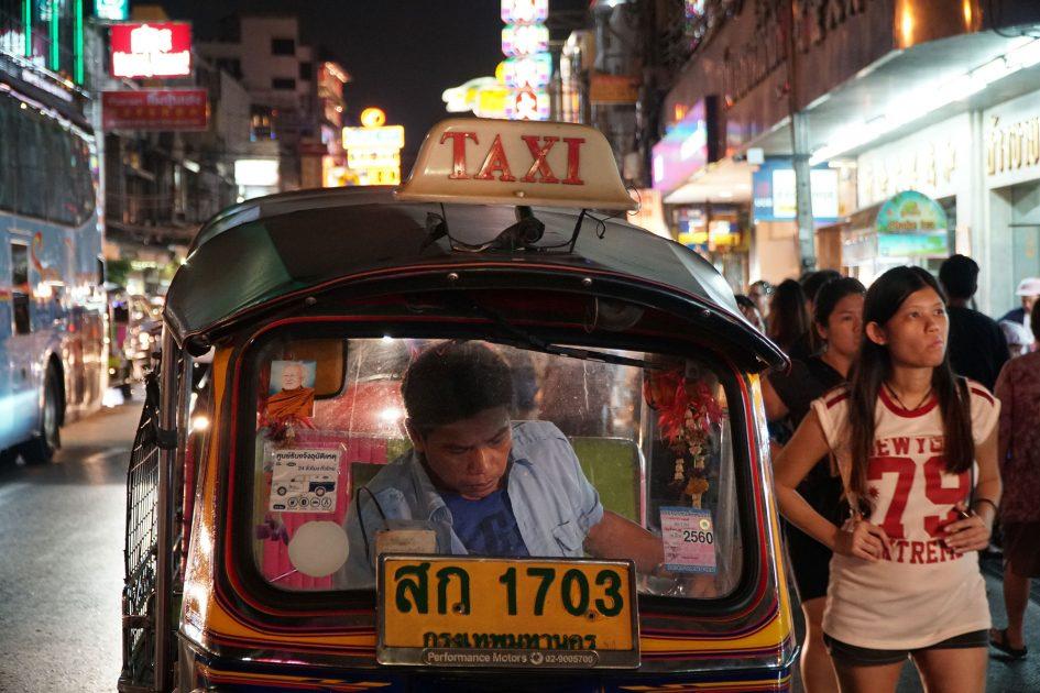 bangkok-chinatown-tuk-tuk-parked