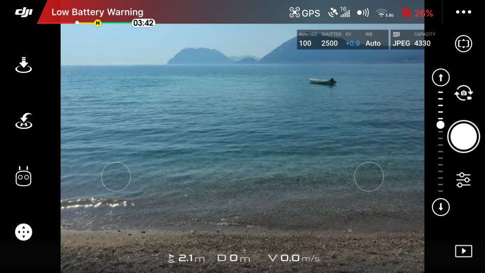 DJI-spark-screenshot-battery