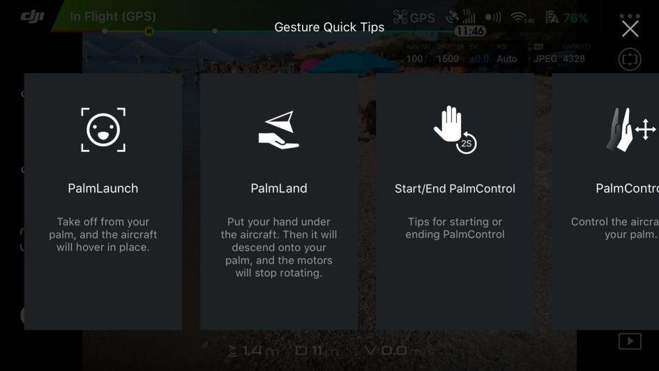 DJI-spark-screenshot-gesture
