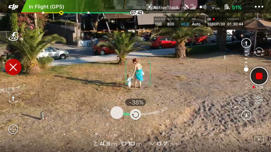 DJI-spark-tracking-screengrab
