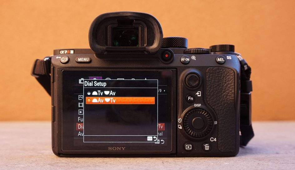 sony-a7r-iii-menus-dial-setup