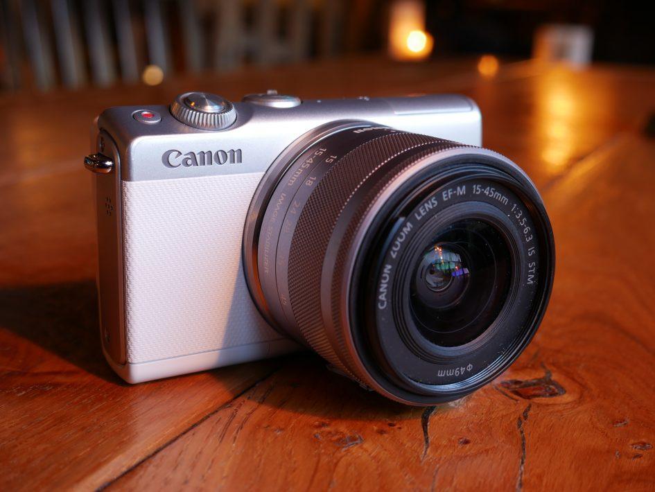 Canon EOS M100 Hero