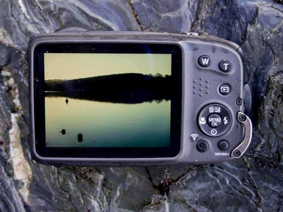 Fujifilm XP130 back