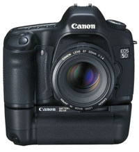 Canon EOS 5D with base
