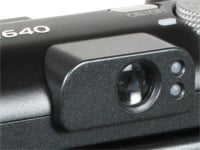 Canon A640 viewfinder
