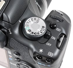 Canon 500D - command dial