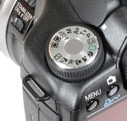 Canon 50D - command dial