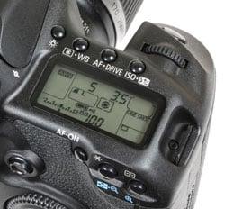 Canon EOS 50D - Canon EOS 50D design, controls, screen and
