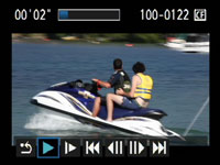 Canon EOS 5D Mark II - movie playback 2
