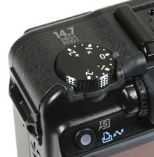 Canon PowerShot G10 - top left view