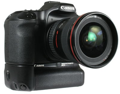Canon EOS 40D with WFT E3A