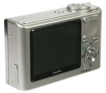 Fujifilm FinePix F11 rear view