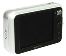 Sony Cyber-shot DSC-N1 rear view