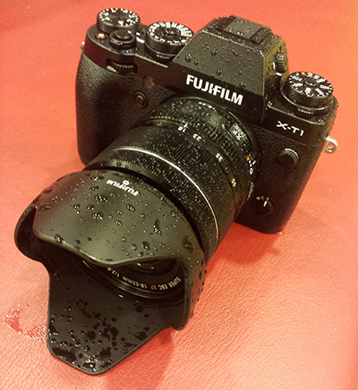 Fujifilm XT1 weather sealing