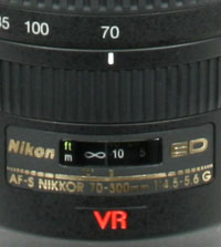 Nikkor 70-300mm VR manual focusing