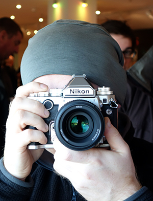 Gordon and the Nikon Df