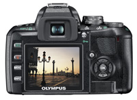 Olympus E-410 - live view