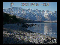Olympus E420 - Live view grid
