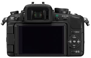 Panasonic Lumix DMC-G1 - rear view
