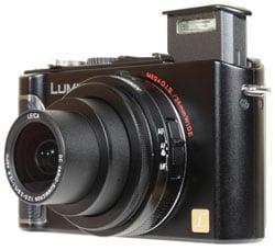 how to turn on flash on panasonic lumix camera