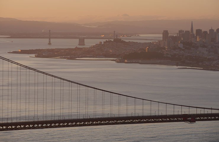 Panasonic Lumix GH4 at The Golden Gate Bridge