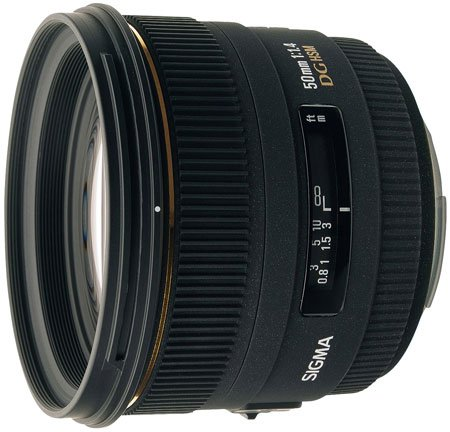 Sigma 50mm f1.4 EX review