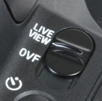 Sony A300 - Live View switch