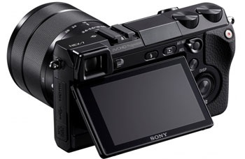 sony nex 7. central to the handling ethos of nex-7 are two configurable control dials mounted on right side top panel. designed be operated with your sony nex 7